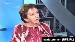 Իրավապաշտպան Ժաննա Ալեքսանյանը զրուցում է «Ազատության» հետ, արխիվ