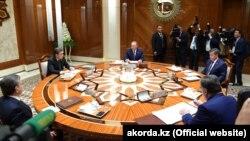 Саммит глав государств – учредителей Международного фонда спасения Арала. Туркменбаши, 24 августа 2018 года.