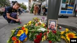 Pavel Sheremetin öldürüldüyü yer