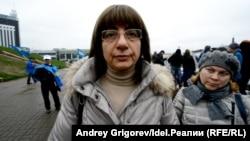 Вартуи Меликсетян. Все снимки сделаны на митинге участников соципотеки в 2016 году.