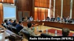 Седница на ректорската управа на УКИМ