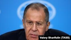 Rusiye tış işleri naziri Sergey Lavrov
