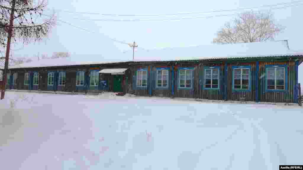 Ташаткан авылы мәктәбе