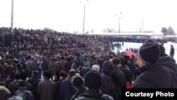 Нарындагы каршылык митинги, 10-март 2010-жыл.