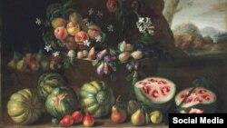 Giovanni Stanchi (1645-1672), Christie kolleksiyasında satılan rəsm