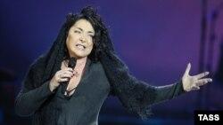 Російська співачка Лоліта Мілявська