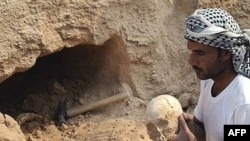 Many of the remains are believed to be in mass graves in Iraq along with other victims of Hussein's regime.