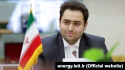 President Hassan Rouhani's son in law Kambiz Mahdizadeh Farsad, who recently has been appointed as a deputy minister in ministry of industries.