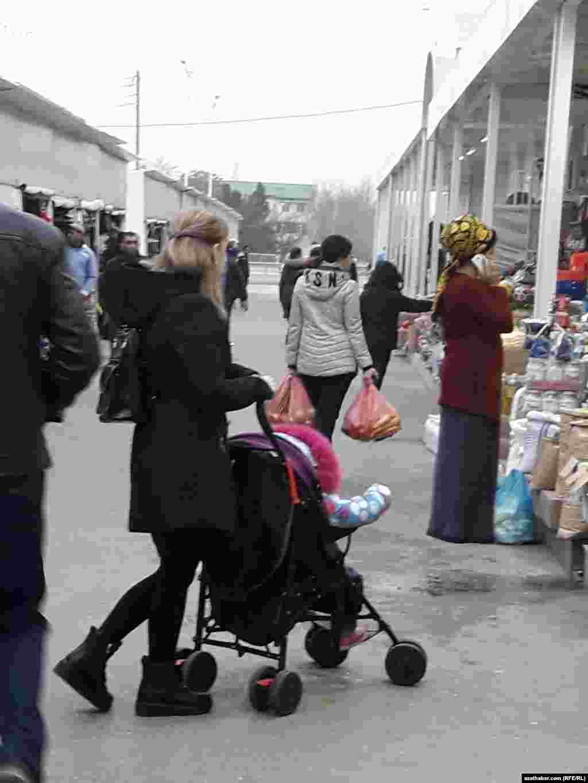 "Рынок ""Дашогуз"" в Ашхабаде"