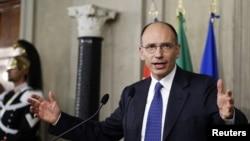 Премьер-министр Италии Энрико Летта.