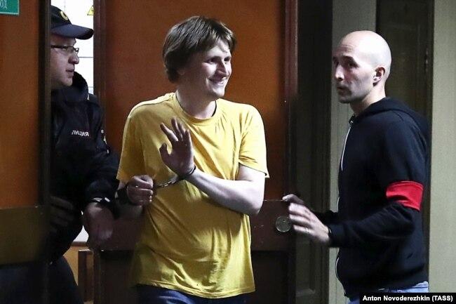 Арестованный блогер Владислав Синица