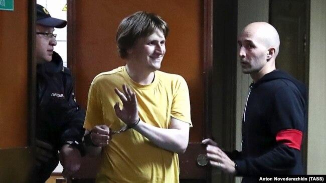 Владислав Синица в суде, 5 августа 2019 год