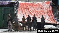 Кабулдун жардыруу болгон аймагы, 29-январь 2018-жыл.