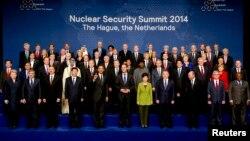 Гаагада өткен ядролық қауіпсіздік жөніндегі саммит. 25 наурыз 2014 жыл.