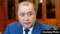 Председатель государственной службы по борьбе с экономическими преступлениями (финпол) Кыргызстана Бакир Таиров.