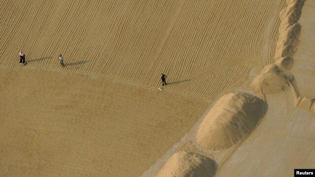 Polja pirinča u Kini