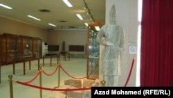قطع آثارية في متحف السليمانية