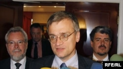 Peter Semneby in Tbilisi in June