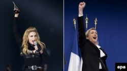 Madonna və Marine Le Pen