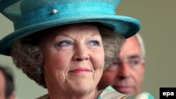 Королева Беатрикс взошла на престол в 1980-м году