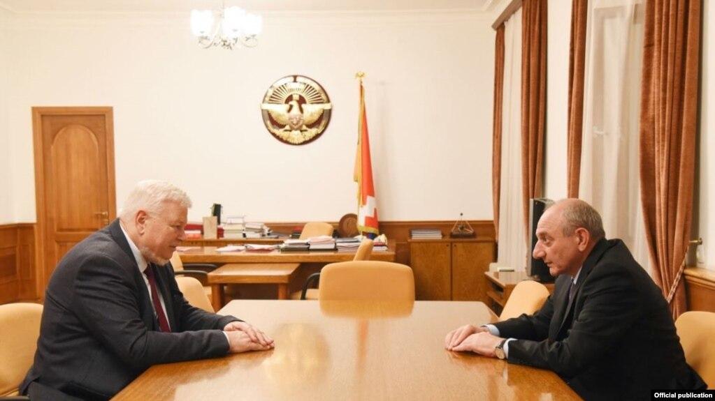Президент Арцаха принял личного представителя действующего председателя ОБСЕ