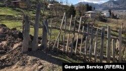 მეწყრული ზონა აჭარის ერთ-ერთ სოფელში