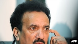"Interior Minister Rehman Malik said, ""This investigation is almost completed."""