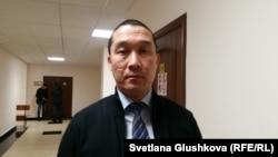 Адвокат Ерлан Газымжанов. Астана, 3 октября 2017 года.