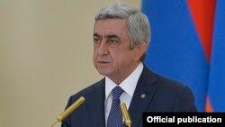 ՀՀ նախագահ Սերժ Սարգսյան