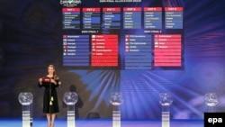 За результатами жеребкування, Росія має виступати у другому напівфіналі «Євробачення» 11 травня