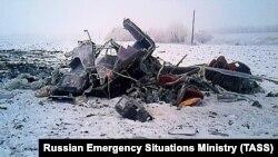 """Крушение вертолета """"Eurocopter 120"""" в Тамбове"""