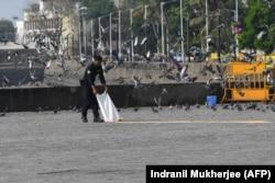 Город Мумбаи во время карантина
