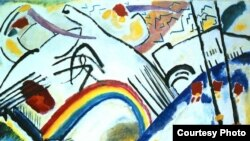 "Василий Кандинский, «Казаки», 1917 год, Третьяковская галерея. [Фото — <a href=""http://smallbay.ru/kandinsky.html"" target=_blank>Smallbay</a>]"