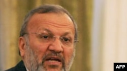 منوچهر متکی، وزیر امور خارجه ایران.(عکس: AFP)