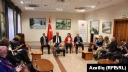 Төркиянең Казандагы баш консулы Татарстан журналистлары белән очрашты