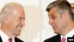 Xho Bajden dhe Hashim Thaçi (Foto arkiv)
