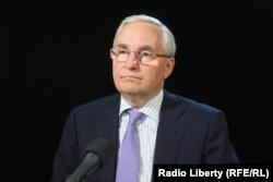 Игорь Юргенс в студии Радио Свобода