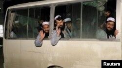زندانیان رهاشده گروه طالبان از زندان پلچرخی کابل