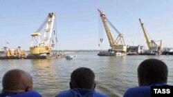 "Операция по подъему ""Булгарии"", 19.07.2011"