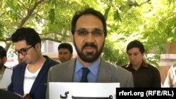 خلیل احمد پارسا مسئول شبکه نهادهای جامعه مدنی هرات