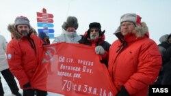 """Открытие станции """"Северный полюс-2015"""""""