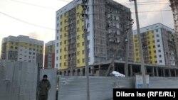 Недостроенные дома, квартиры в которых акимат Шымкента теперь предлагает вкладчикам «Жилстройсбербанка».