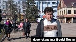 Kostyantyn Davydenko was detained in Crimea in 2018. (file photo)