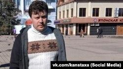 Російські силовики затримали Костянтина Давиденка в анексованому Криму в лютому 2018 року