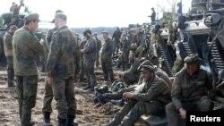 Вучэньні войскаў NATO ў Літве, травень 2017