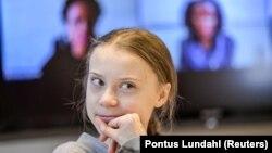 Activista suedeză Greta Thunberg 31 ianuarie, 2020