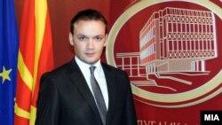 Александар Ѓорѓиев, портпарол на македонската влада.