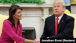 Donald Trump və Nikki Haley