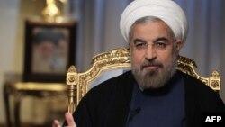 Иран президенті Хассан Роухани. Тегеран, 10 қыркүйек 2013 жыл.