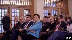 """Премиерот Зоран Заев на Економскиот форум """"Дијалог за иднината 2017"""" во Виена."""